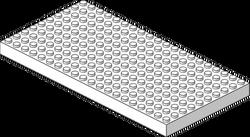062 10x20 Baseplate