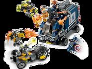 76143 L'attaque du camion des Avengers 2