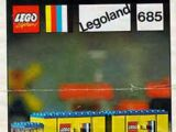 685 LEGOLAND Truck with Trailer