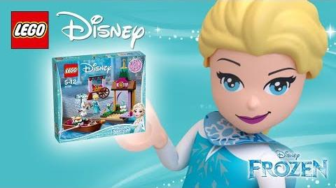 Elsa's Market Adventure - Product Spin - 41155 LEGO Disney