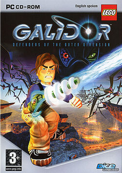 Galidor video game PC