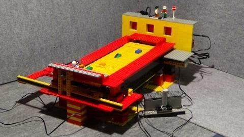 LEGO Rally Automat , Retro Autorennen ... üfchen