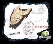 Prototype Vamprah mask sketches 2