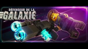 The LEGO Movie 2 BA 2-Rex défenseur de la galaxie