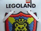 4202054 Sew-On Cloth, Knights Kingdom I, Lion Shield