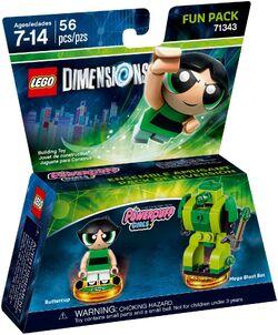 71343 The PowerPuff Girls Buttercup Fun Pack Box