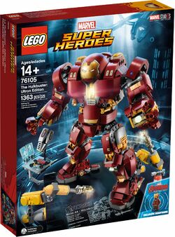 76105 The Hulkbuster Ultron Edition Box