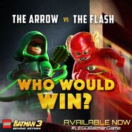 LEGO Batman 3 Arrow et Flash
