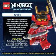 LEGO Ninjago Nindroids Nya