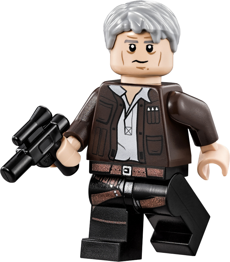 LEGO STAR WARS 6212 Han Solo Minifigure New