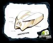 Prototype Bio 2008 mask scetch