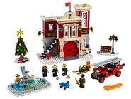 10263 La caserne des pompiers du village d'hiver