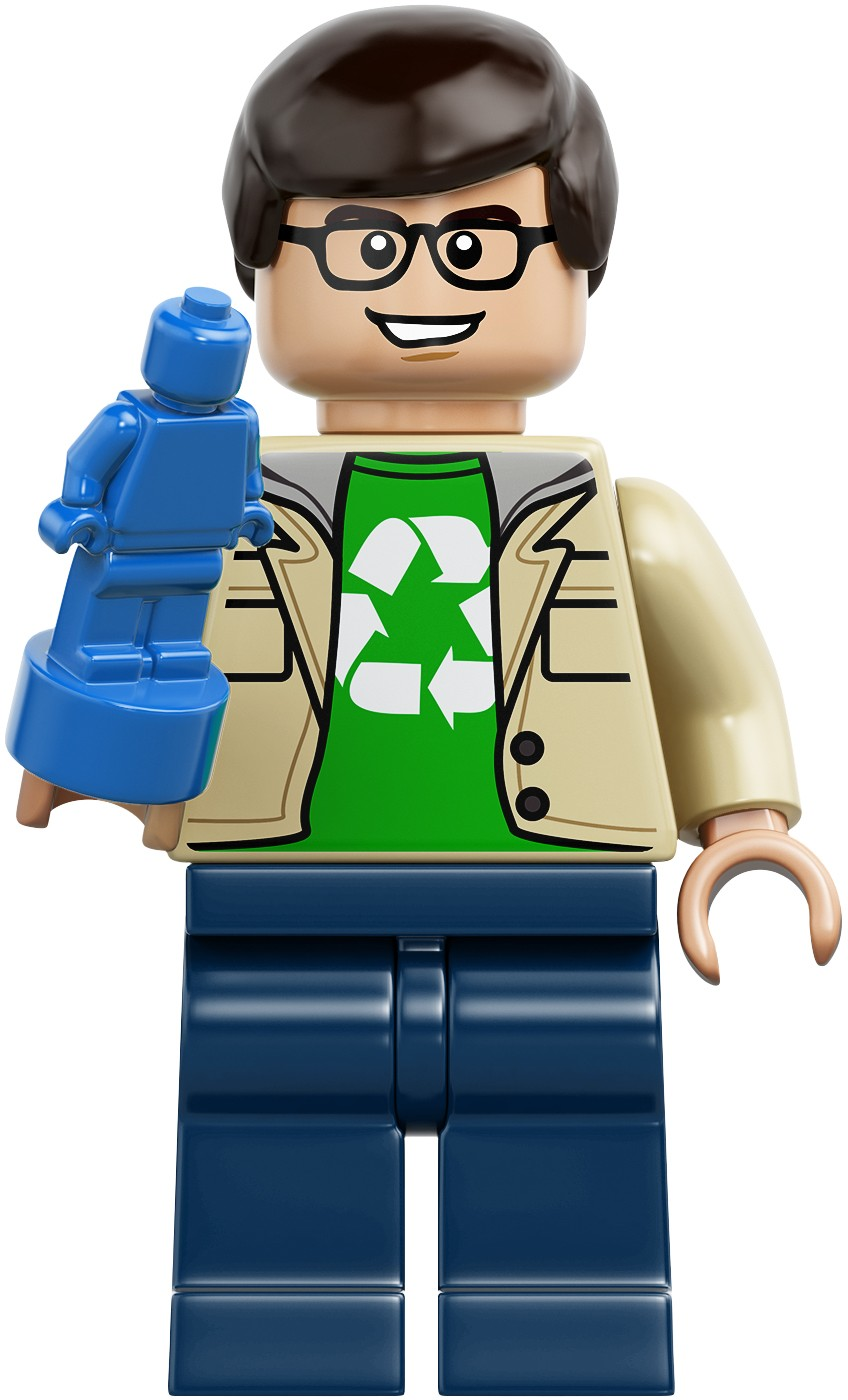 21302 Sheldon Cooper with Green Lantern LEGO Ideas Big Bang Theory Minifigure