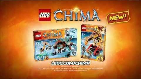 LEGO CHIMA - Sabretooth Tiger vs FireLion