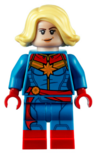 LEGO Captain Marvel custom