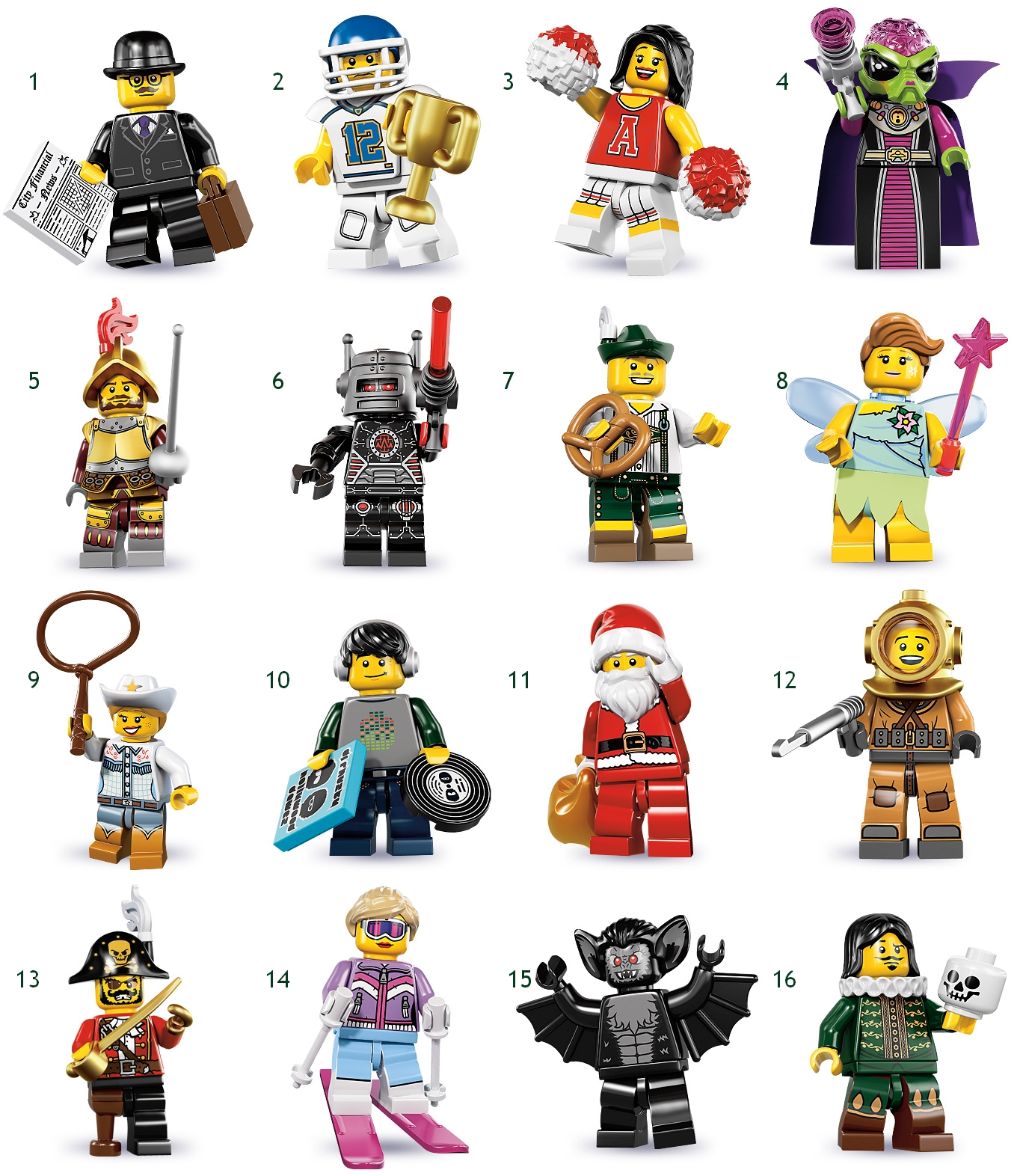 image lego series 8 minifigures jpg brickipedia fandom powered by wikia. Black Bedroom Furniture Sets. Home Design Ideas