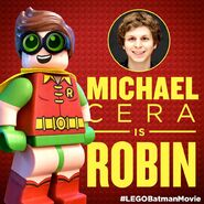 Vignette Batman Movie Michael Cera