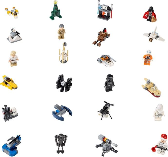 75056 Star Wars Advent Calendar Brickipedia Fandom Powered By Wikia