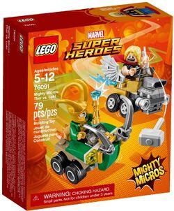 76091 Mighty Micros- Thor vs