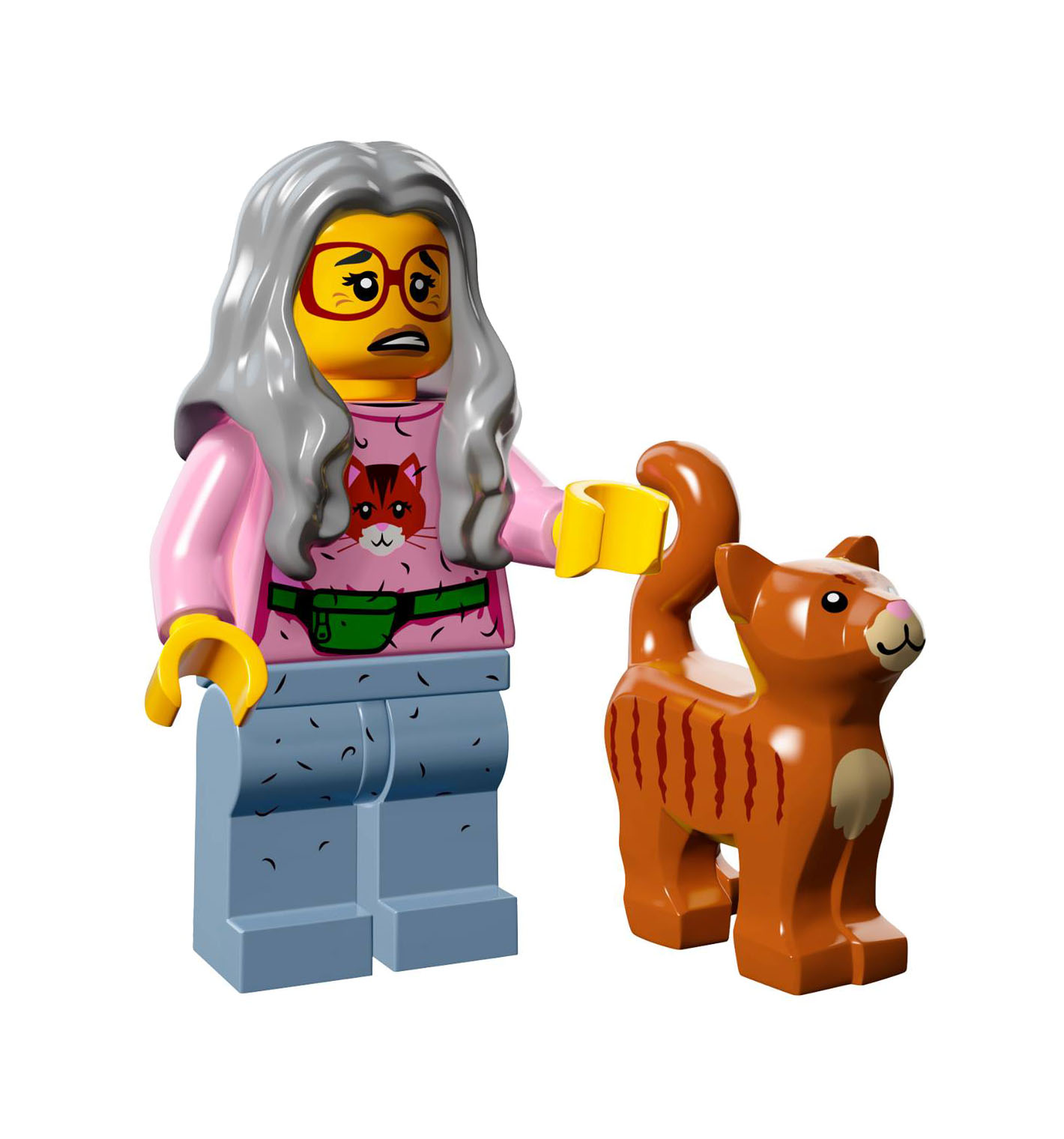 marvel lego old lady cat