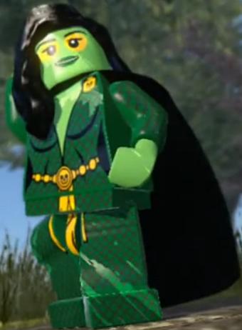 Gamora Minifigure Marvel Super Heroes Figure For Custom Lego Minifig  15