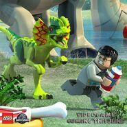 LEGO Jurassic World Dilophosaure