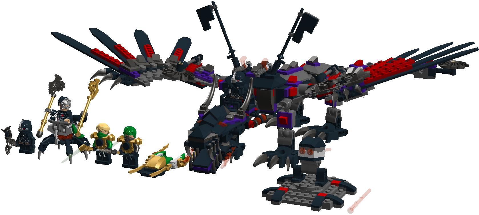 Custom Cryptor Mechdragon Brickipedia Fandom Powered
