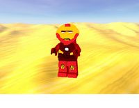 Iron man minifig