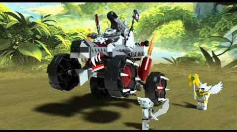 LEGO Chima 70004 - Wakzův útok - animace