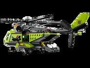 60123 L'hélicoptère d'approvisionnement du volcan 3