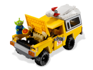 7598 La course en camionnette Pizza Planet 2