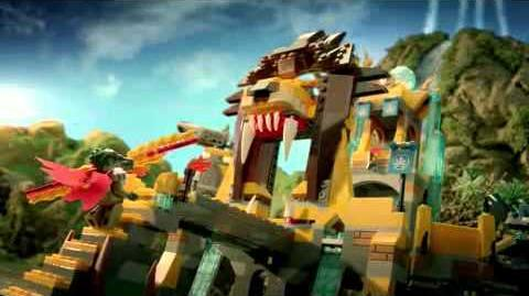 LEGO Legends of Chima - Lion Chi Temple 70010