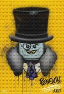 The LEGO Batman Movie Poster graffiti The Penguin