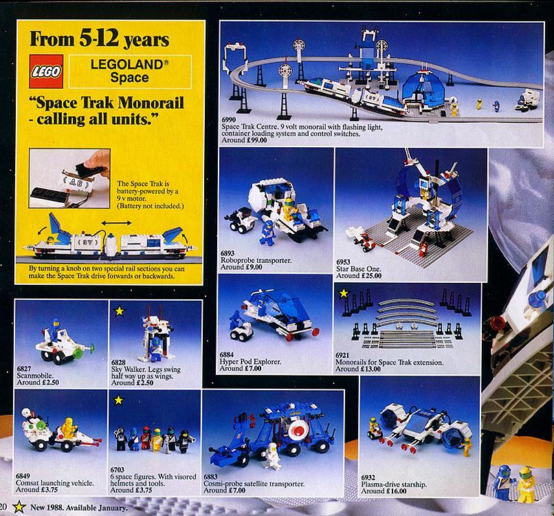 6990 Monorail Transport System | Brickipedia | Fandom