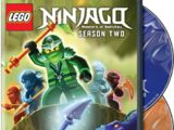 5002195 LEGO Ninjago: Masters of Spinjitzu Season Two