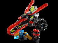 70501 La moto guerrière
