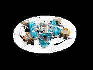 70661 Toupie Spinjitzu Zane 3