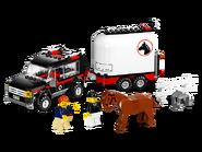 7635 Le transport de chevaux