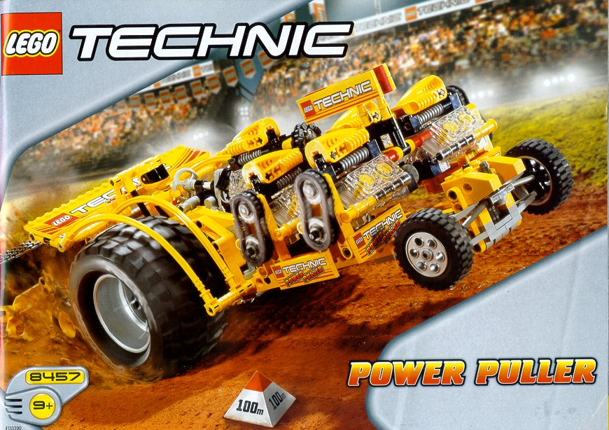 Power Wheels Tractor Pull : Power puller brickipedia fandom powered by wikia