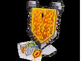 853507 Le bouclier renforcé des chevaliers
