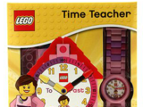 5001371 LEGO Time Teacher Girl Minifigure Watch & Clock
