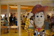 Downtown Disney Woody