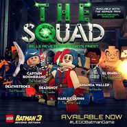 LEGO Batman 3 The Squad Pack L'Escadron