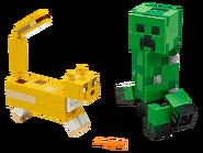 21156 Creeper et ocelot