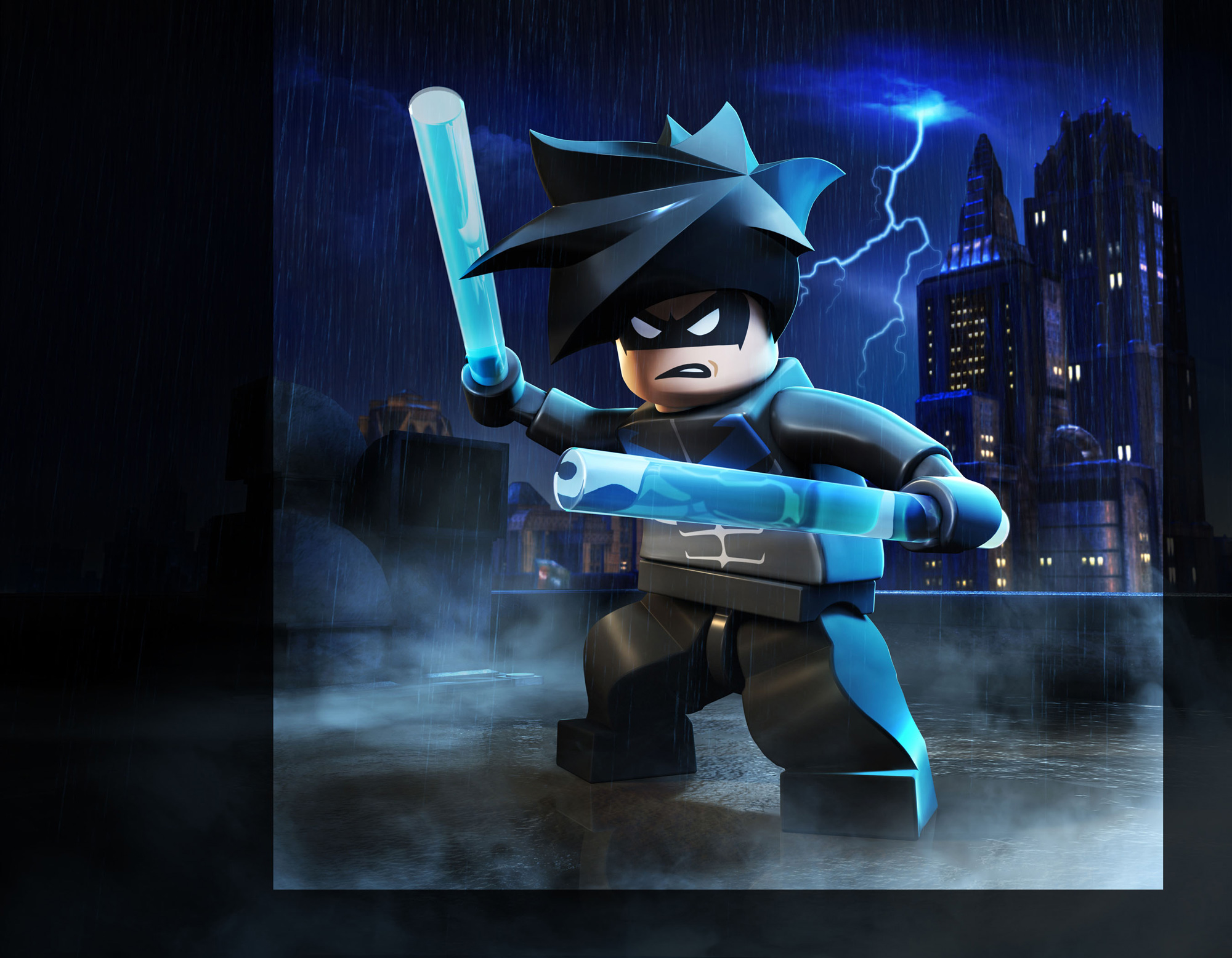 In the video games & Nightwing | Brickipedia | FANDOM powered by Wikia