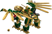 The Golden Dragon back