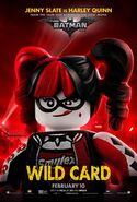 The LEGO Batman Movie Poster Personnage Harley Quinn