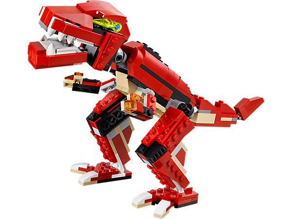 fichier31024 le bolide rouge 4png - Lego Dinosaure