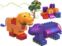 3514 Rhino and Lion
