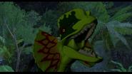 Dilophosaur angry